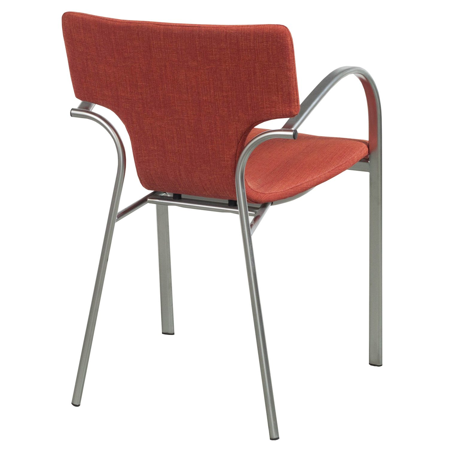 orange stackable chairs chair covers for sale south africa bernhardt strada used stack national