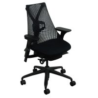 Herman Miller Sayl Used Task Chair, Black | National ...