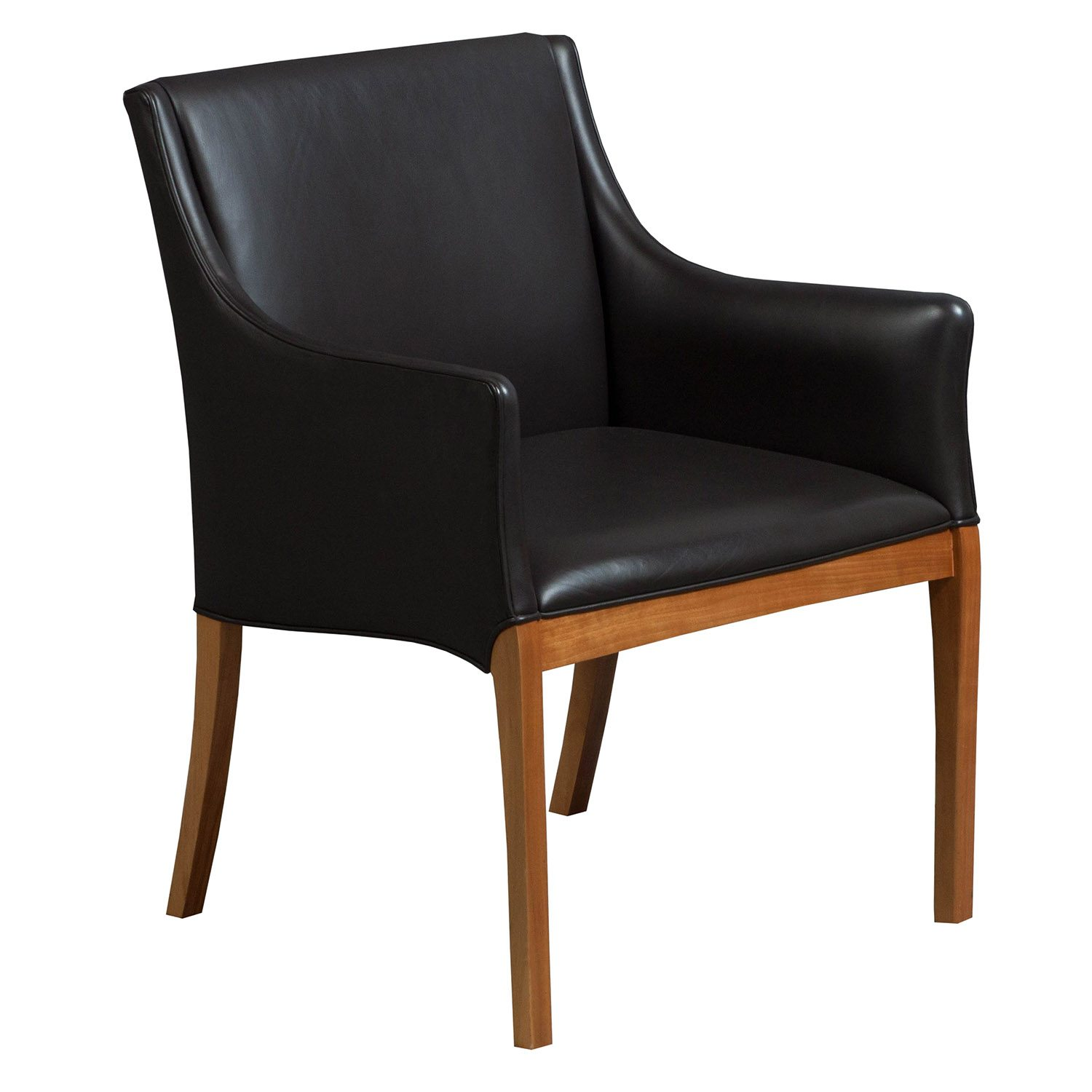 Herman Miller Geiger Camden Used Leather Guest Chair