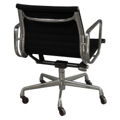 Eames Aluminum Group Management Chair Sail Cloth Beach Chairs Herman Miller Used