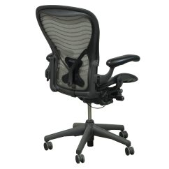 Aeron Chair Accessories Race Car Seat Gaming Herman Miller Used Size B Posture Fit Task