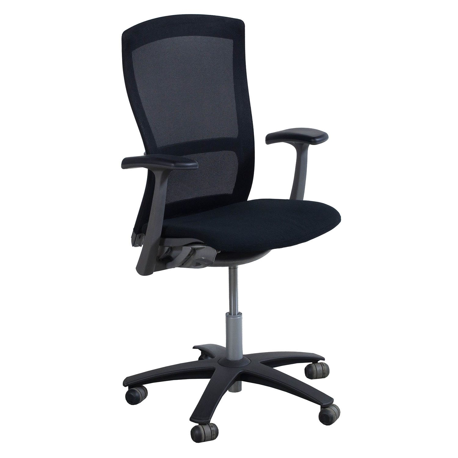 Knoll Life Used Mesh Back Conference Chair Black