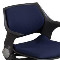 Steelcase Rocky Used Nesting Chair, Blue | National Office ...