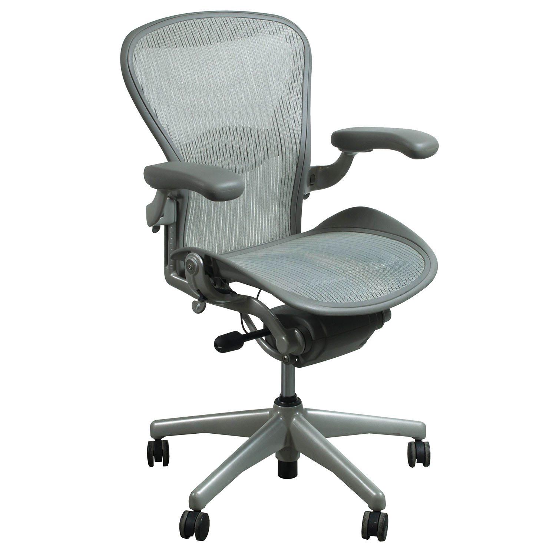 herman miller chair sizes academy sports beach chairs aeron used size c task quartz