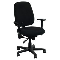 Used Office Chairs Leather Massage Chair Master Pt78 Task Black National