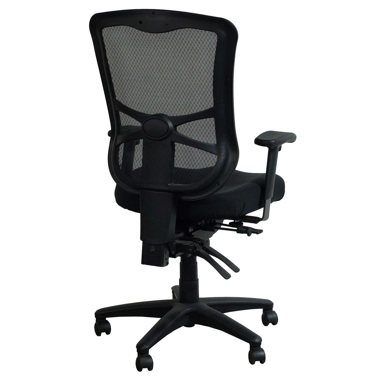 Alera Chair Alera Elusion Series Used Mesh High Back Chair Black