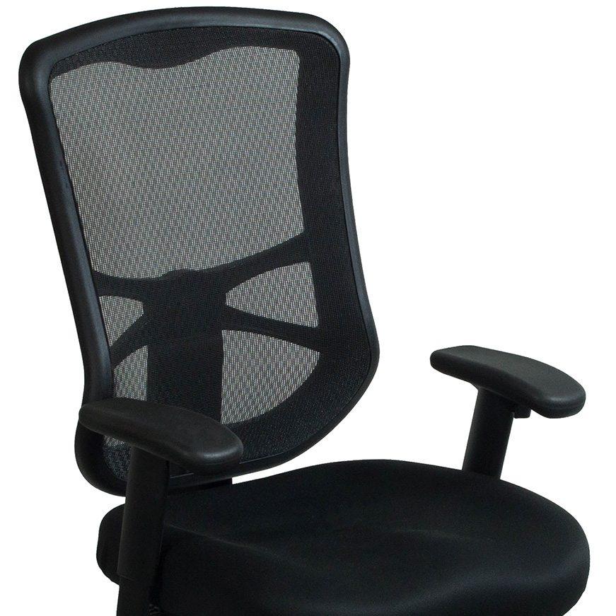 Alera Elusion Series Used Mesh HighBack Chair Black