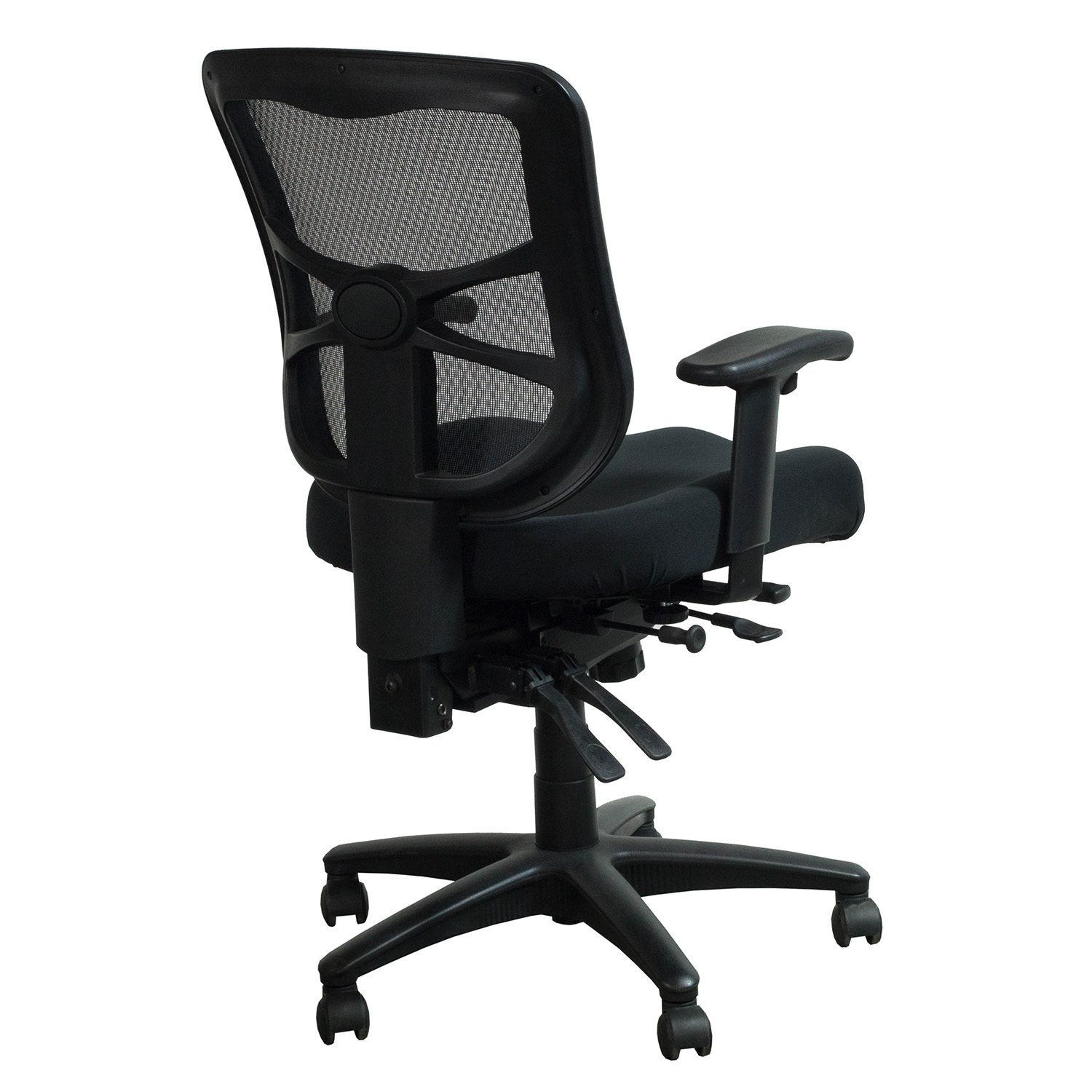 Alera Chair Alera Elusion Series Used Mesh Mid Back Chair Black