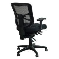 Alera Elusion Series Used Mesh Mid-Back Chair, Black ...