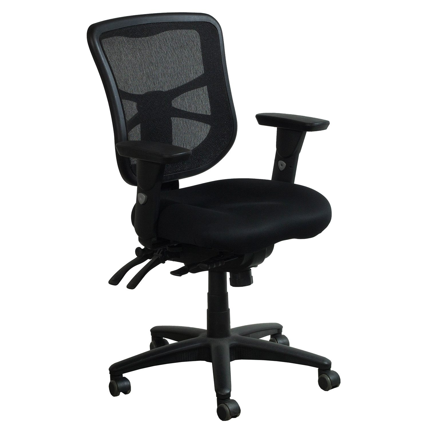 Ergo Chair Ergo Used Mesh Mid Back Task Chair Black National