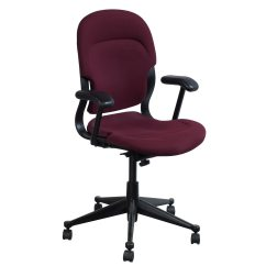 Maroon Office Chairs Potty Chair Fisher Price Herman Miller Equa High Back Used Task