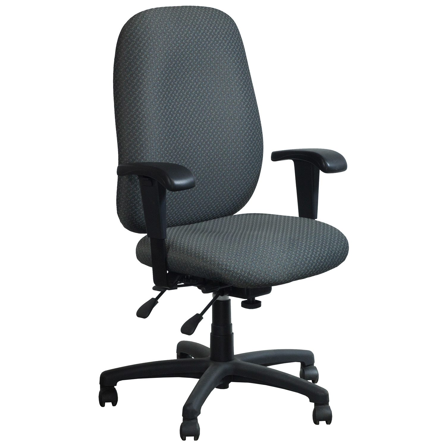 Used High Chairs Sitwell Connect Multishift Used High Back Task Chair Gray