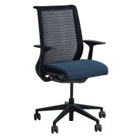 Steelcase Think Used Black Back Mesh Conference Chair