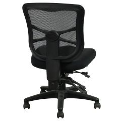Alera Elusion Chair World Market Chairs Used Armless Mesh Mid Back Black