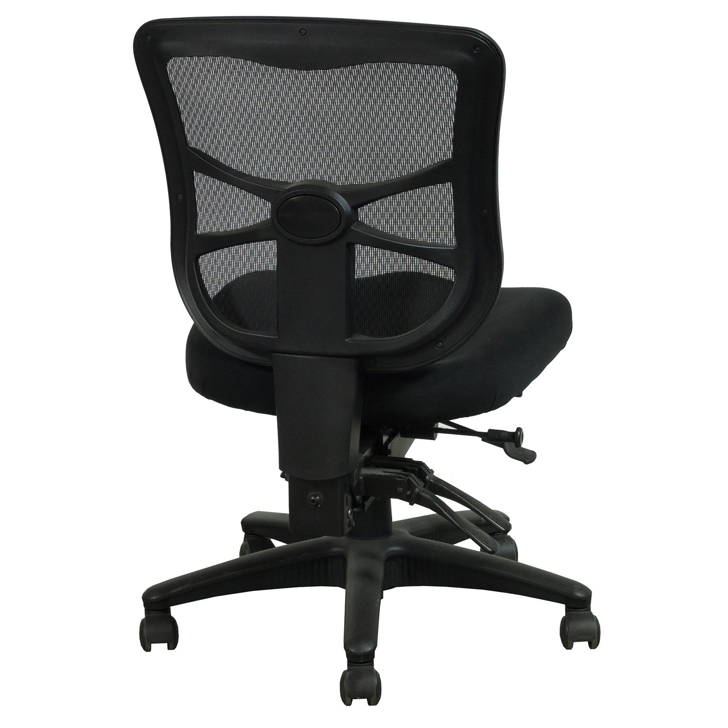 Alera Chair Alera Elusion Used Armless Mesh Mid Back Chair Black