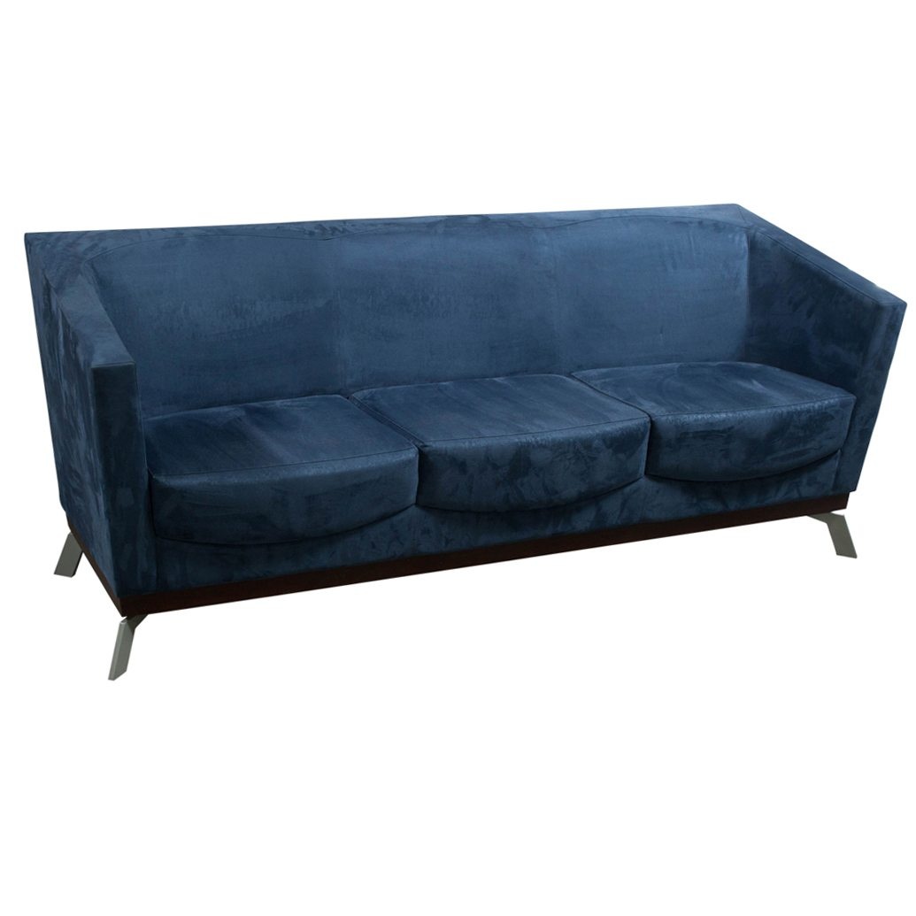blue suede sofa l shape murah malaysia arcadia achella used national office