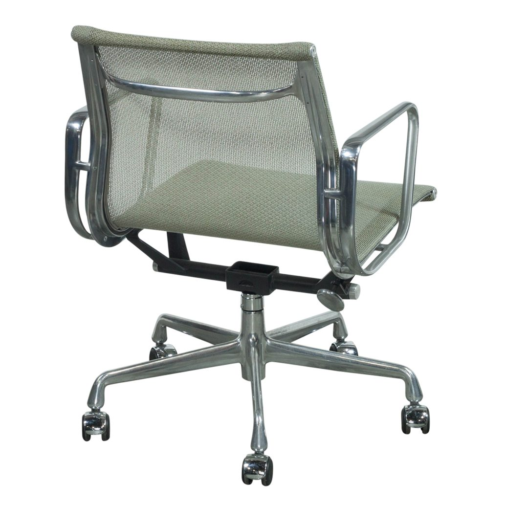 Herman Miller Eames Chair Herman Miller Eames Used Mesh Aluminum Group Management