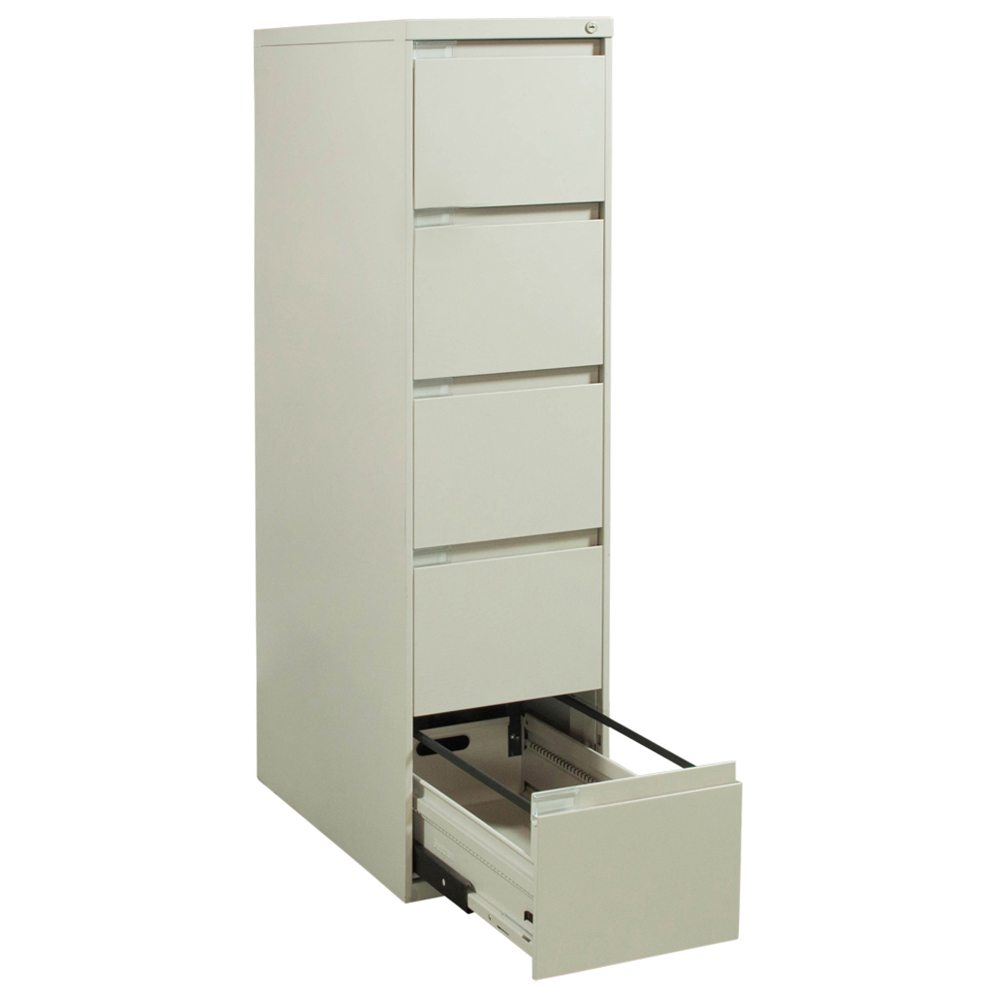 Steelcase Used 5 Drawer Letter Vertical File Cabinet