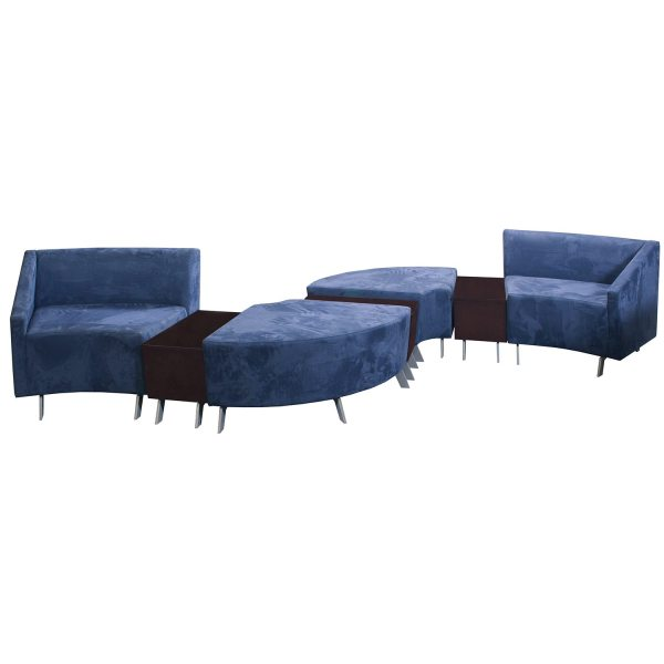 Arcadia Archella Used Modular Lounge Seating Blue National Office Interiors And Liquidators