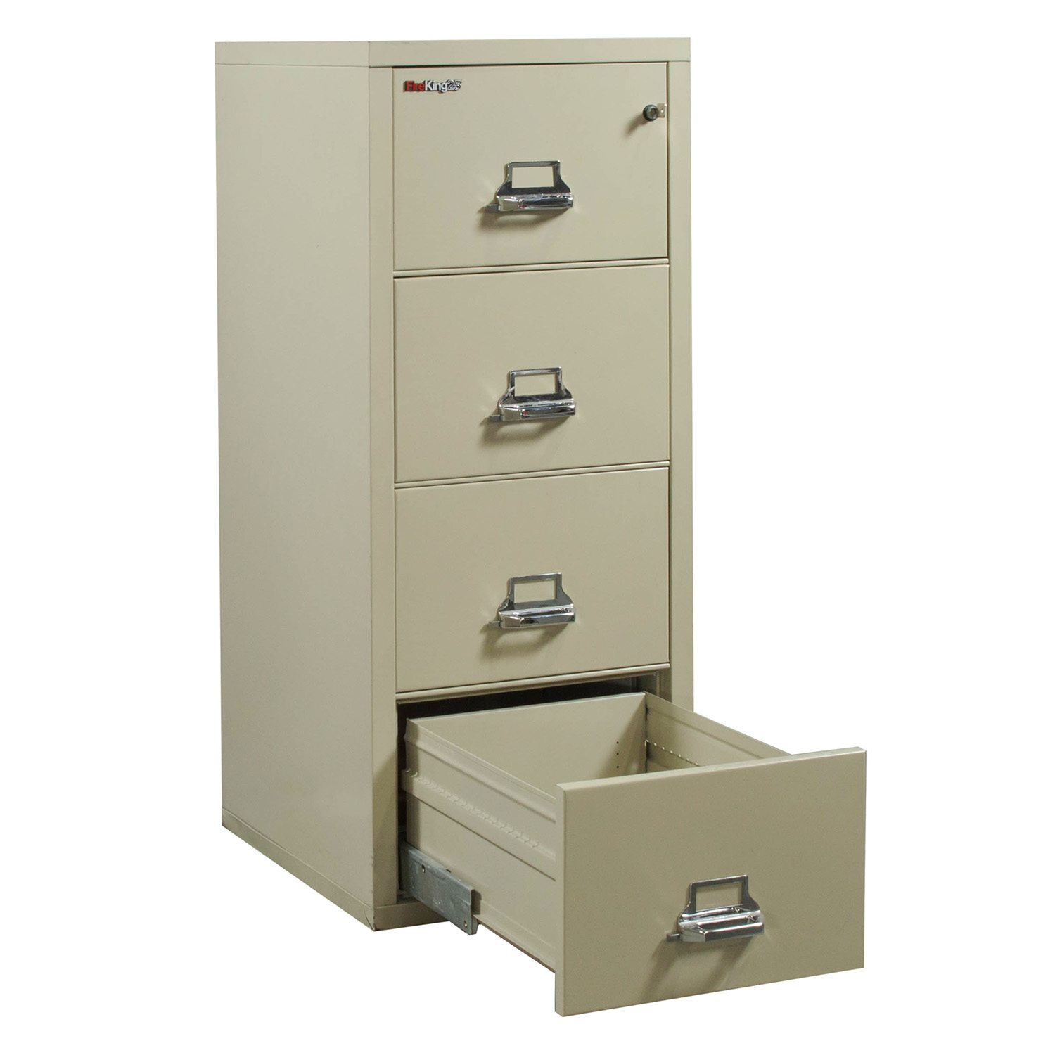 FireKing 25 Used Legal 4 Drawer Vertical File Cabinet