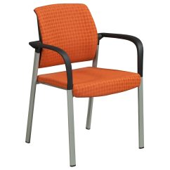 Allsteel Relate Side Chair Office Jysk Used Stack Orange National