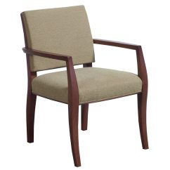 Office Side Chairs Haworth Chair Bernhardt Used Dark Cherry Wood Green