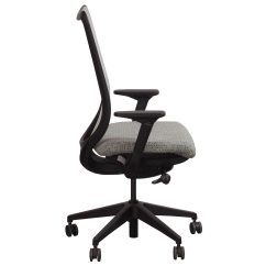 Pewter Chair Jeep Desk Hon Nucleus Used Mesh Back Task Seat Dotty