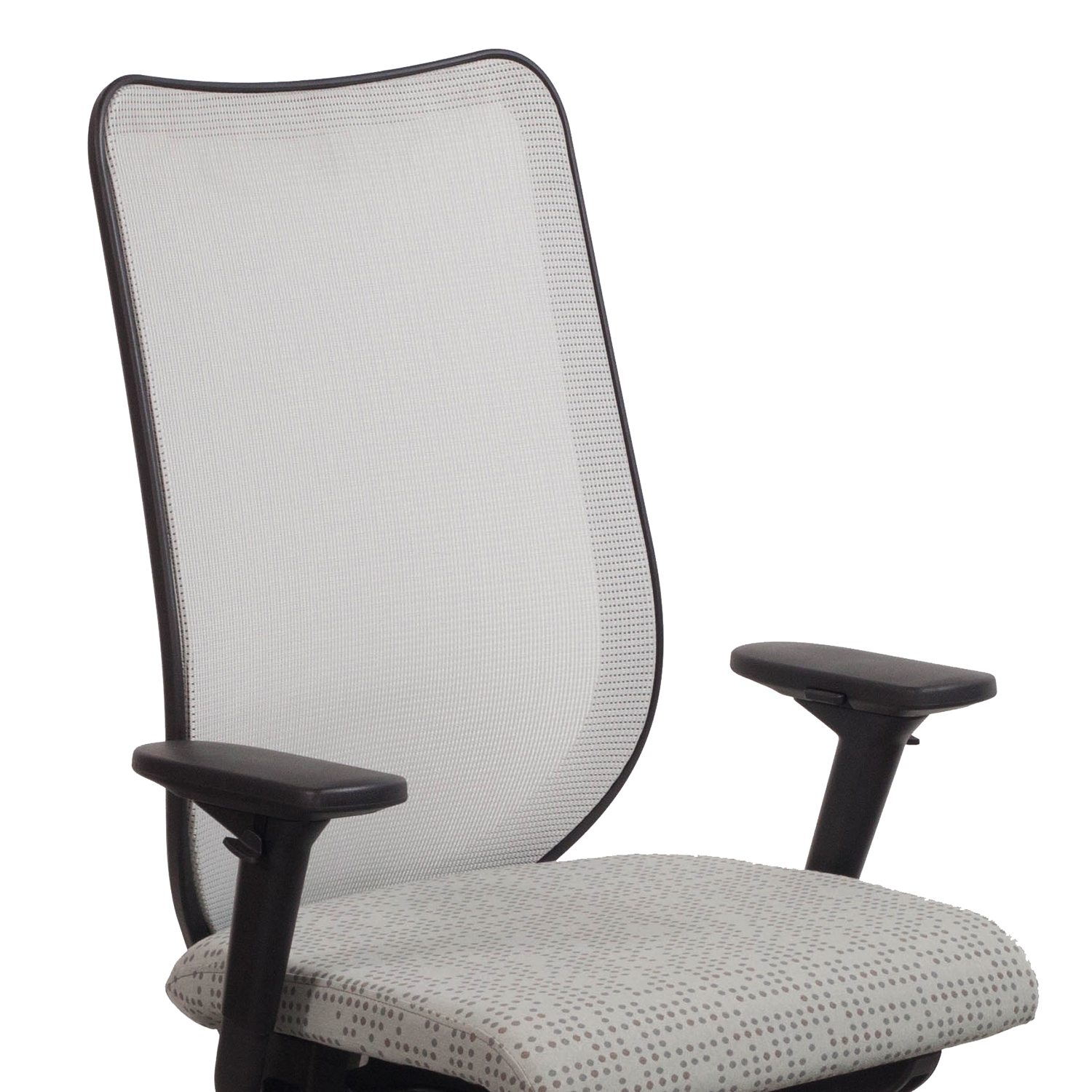 pewter chair outdoor double rocking hon nucleus used mesh back task seat dotty