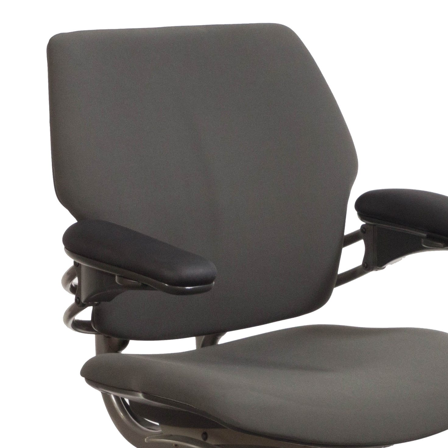 Humanscale Freedom Chair Humanscale Freedom Used Mid Back Task Chair Gray