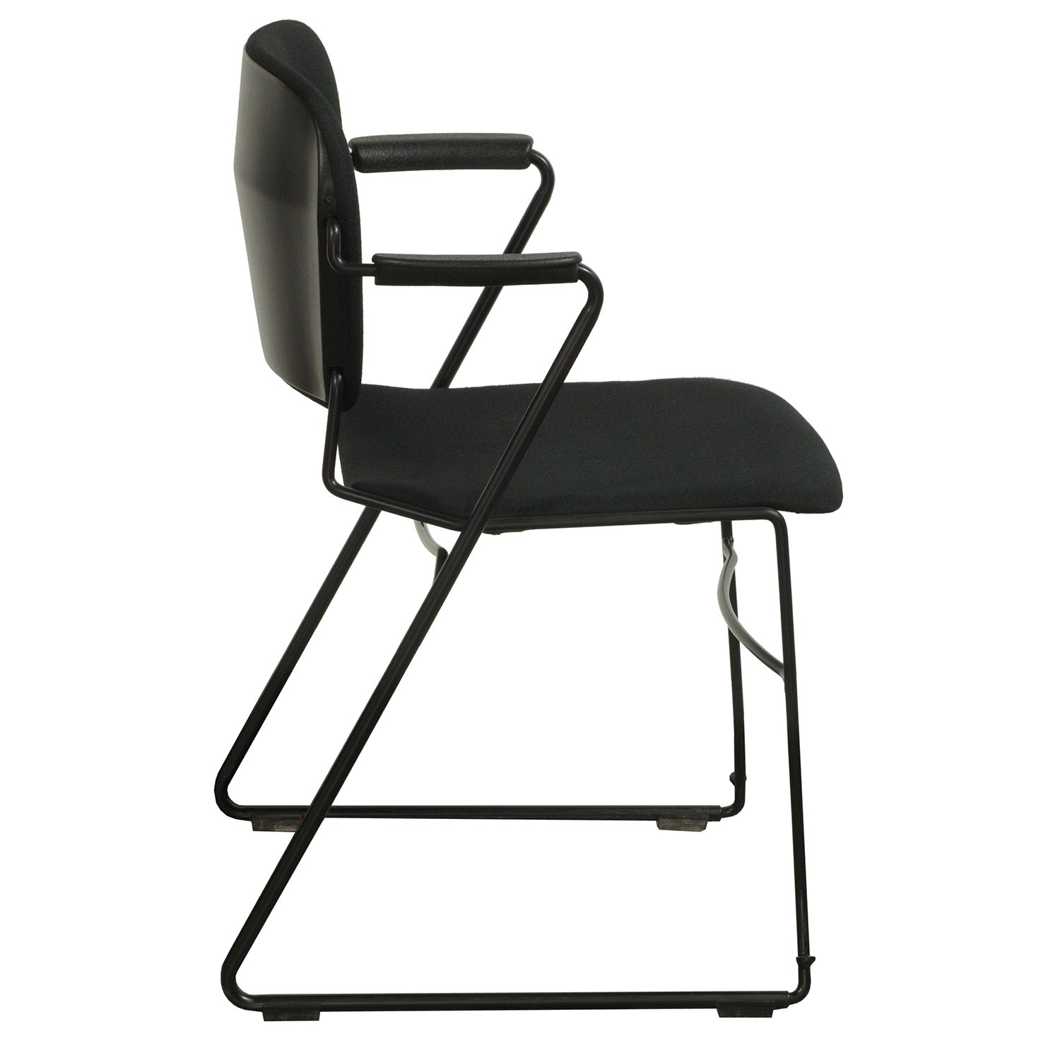 Ki Chairs Ki Perry Used Stack Chair Black National Office