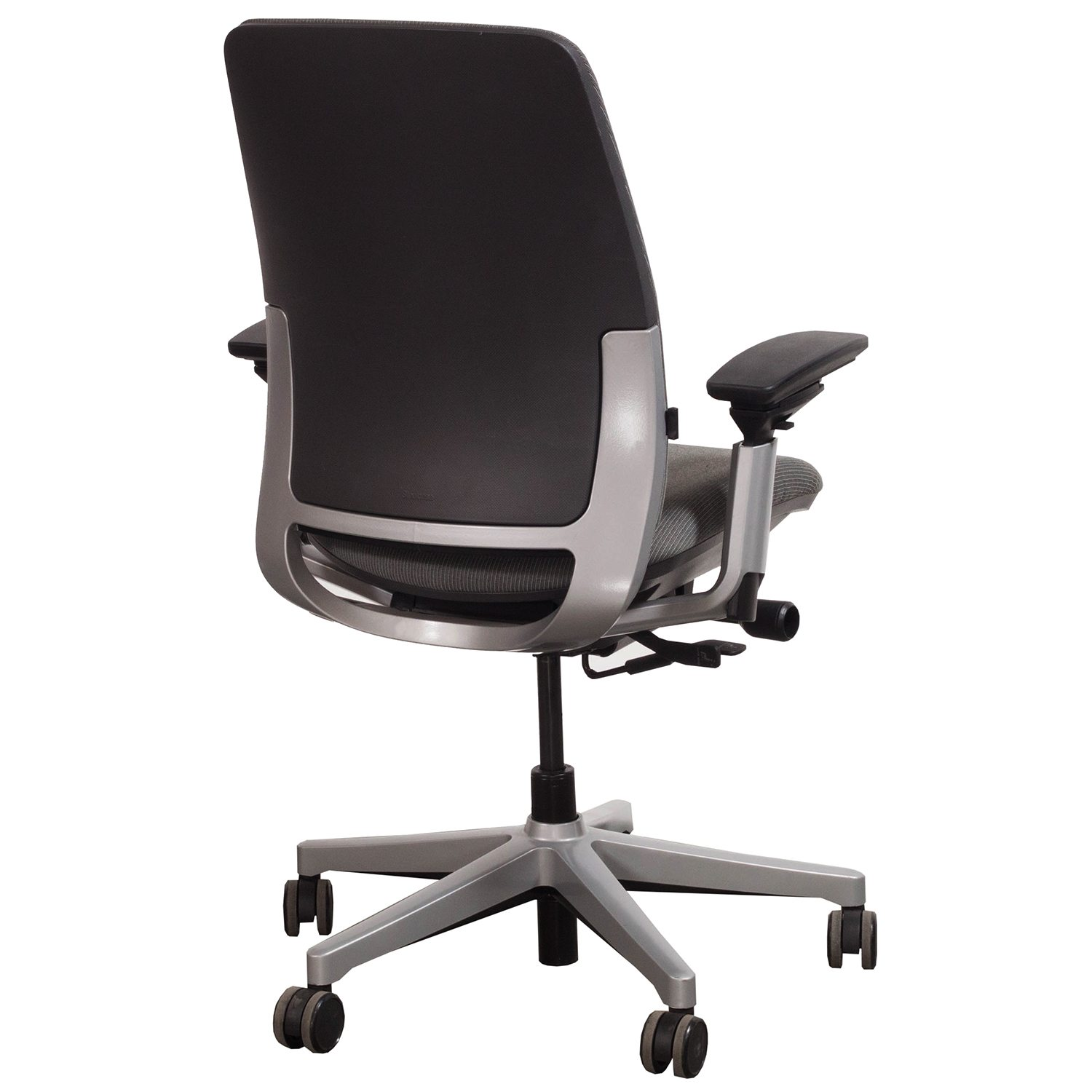 steelcase amia chair revolving in ahmedabad used task poppyseed national