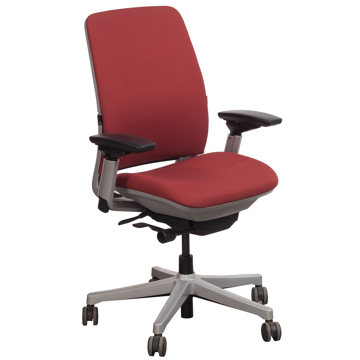 Steelcase Amia Used Task Chair Red  National Office