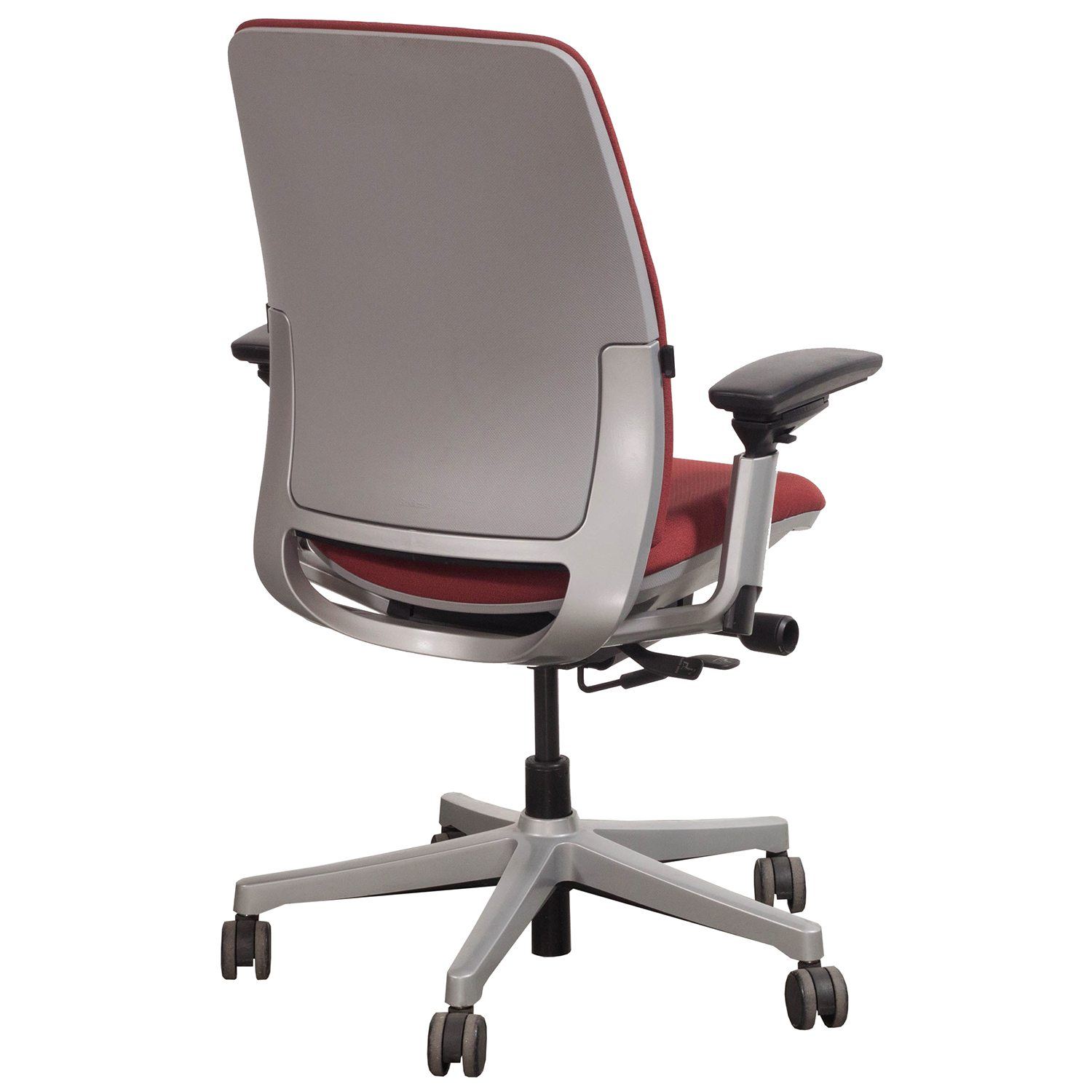 steelcase amia chair patio dining chairs clearance used task red national office