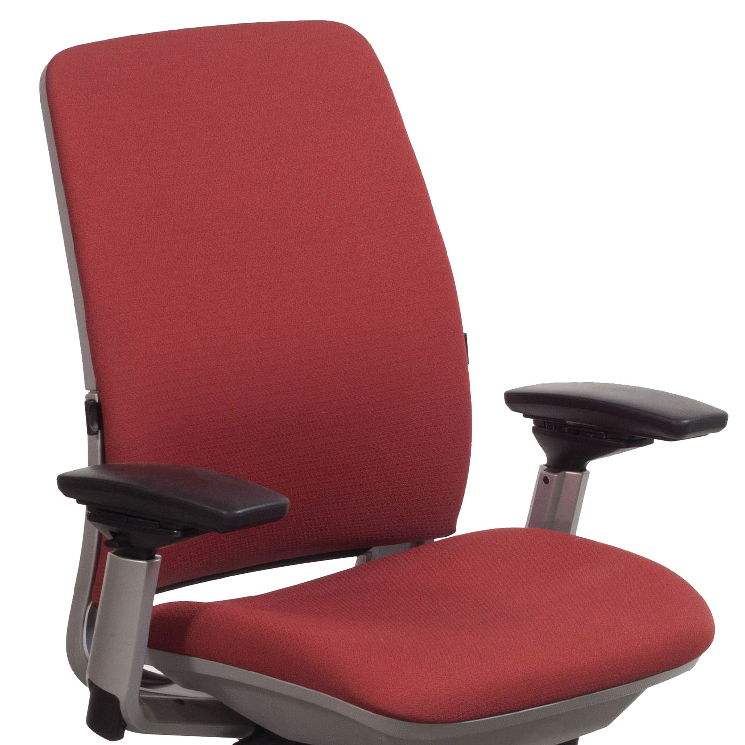 steelcase amia chair how to cover office with fabric used task red national