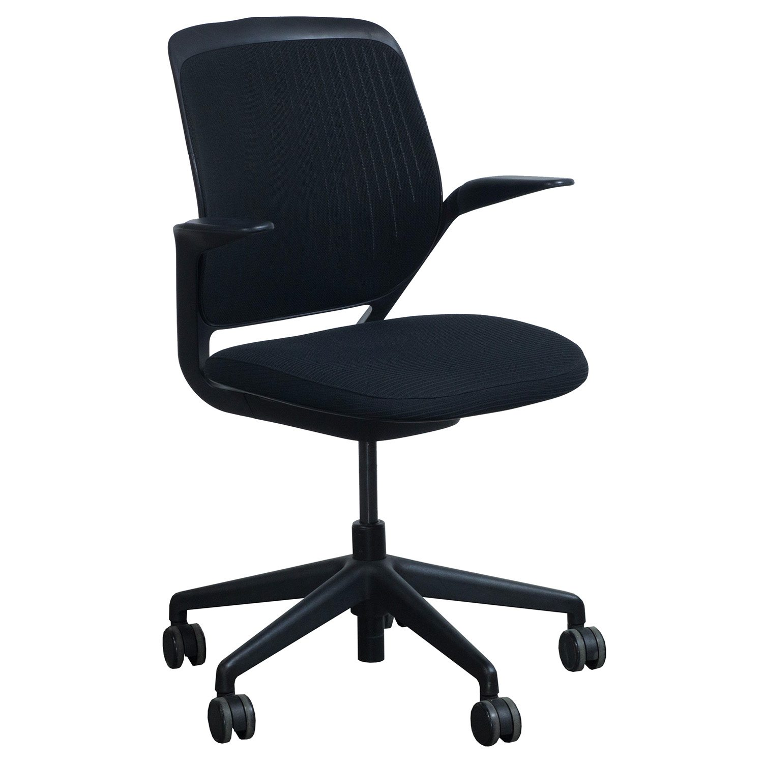 Steelcase Chairs Steelcase Cobi Used Task Chair Black National Office