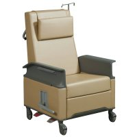 Steelcase Empath Used Leather Recliner Chair, Gold ...