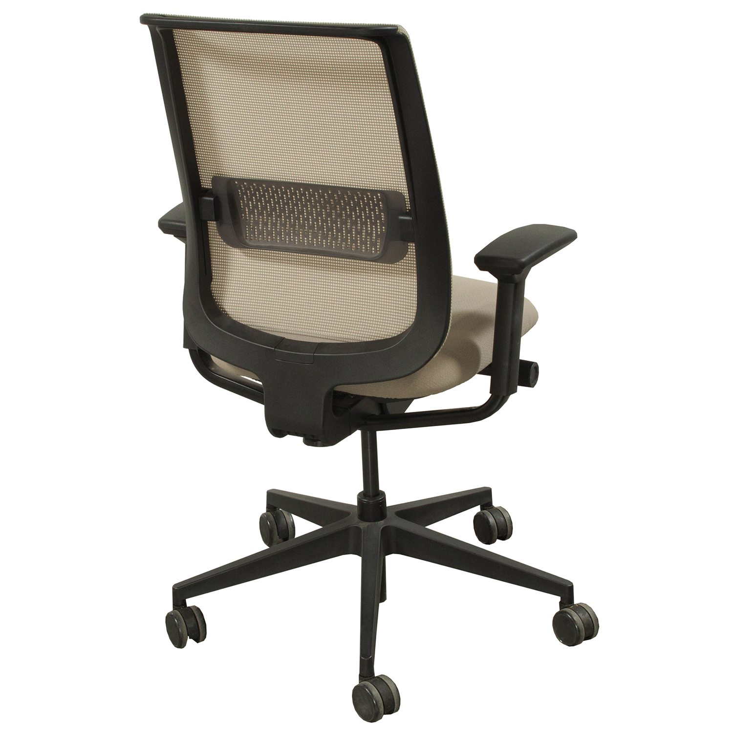 Tan Office Chair Steelcase Reply Used Mesh Task Chair Tan National