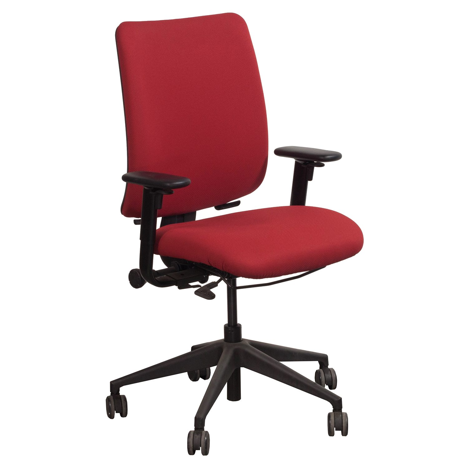 office chair rowing ebay massage steelcase turnstone crew used task red national