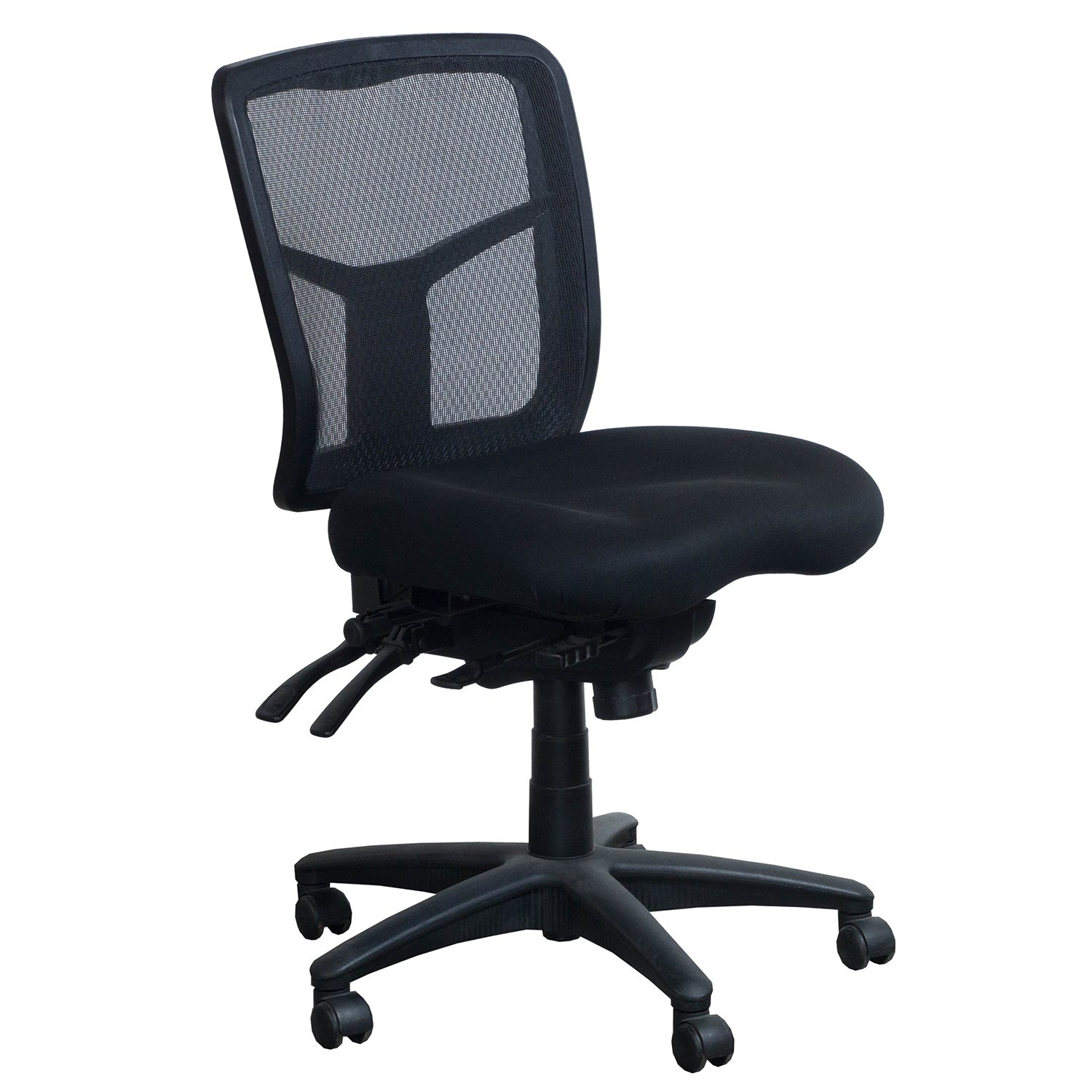 alera elusion chair office ottoman series used mesh armless task black national