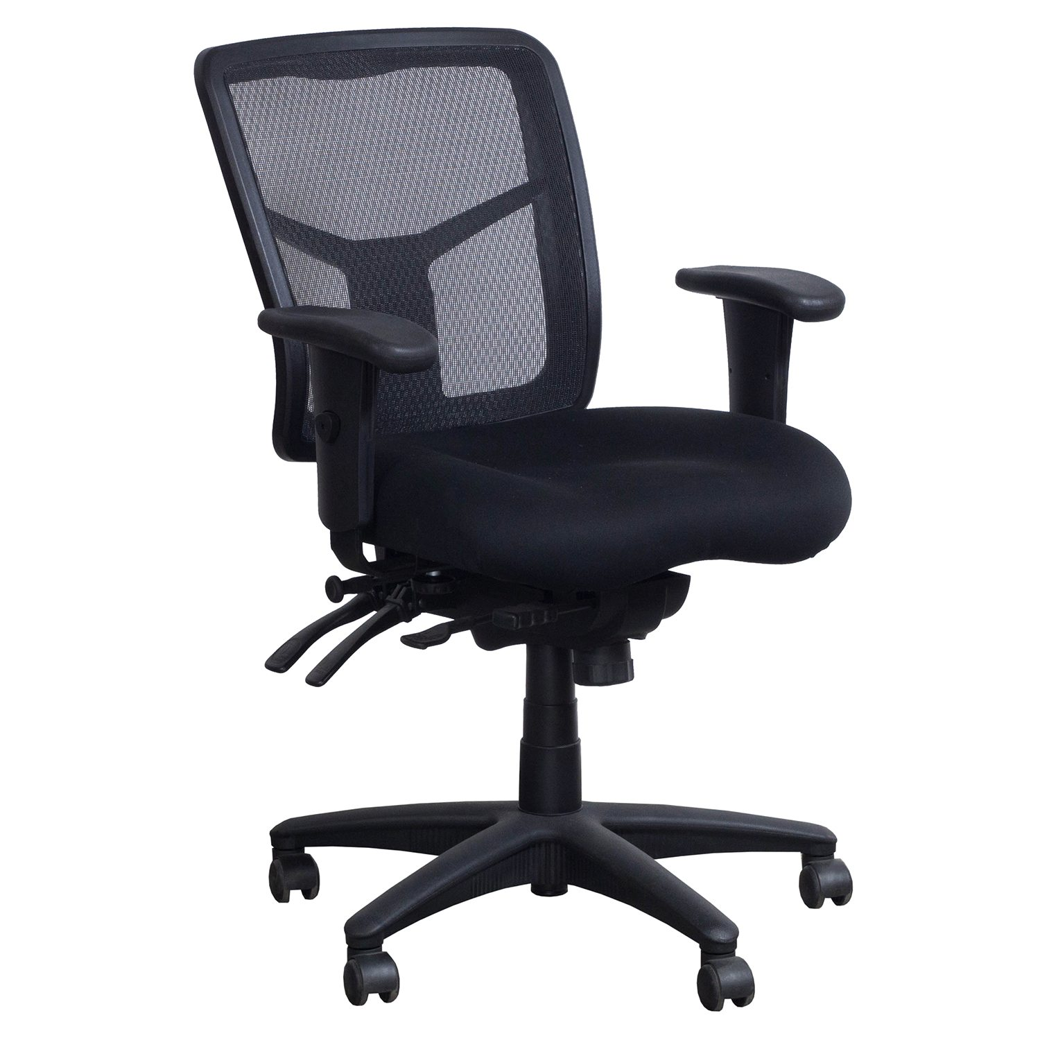 Alera Chair Alera Elusion Series Used Mesh Task Chair Black