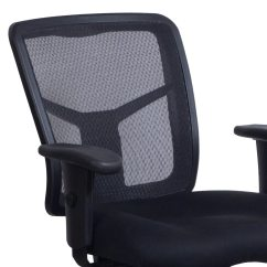 Alera Elusion Chair Big Man Series Used Mesh Task Black