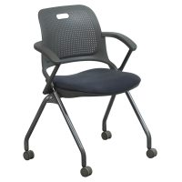 Allsteel Get Used Nesting Chair, Gray | National Office ...
