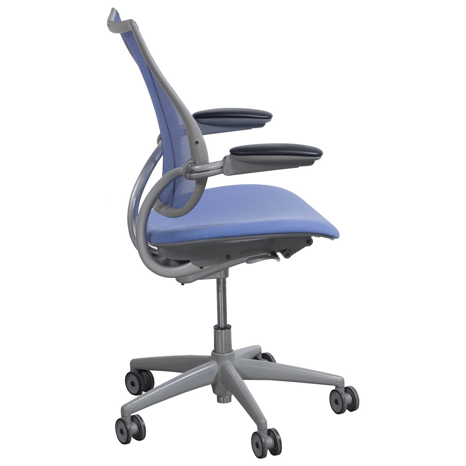 Humanscale Liberty Chair Humanscale Liberty Used Conference Chair Periwinkle