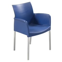 Lunch Room Chairs Classroom Organizer Chair Covers Pedarali Ice Used Break W Arms Blue