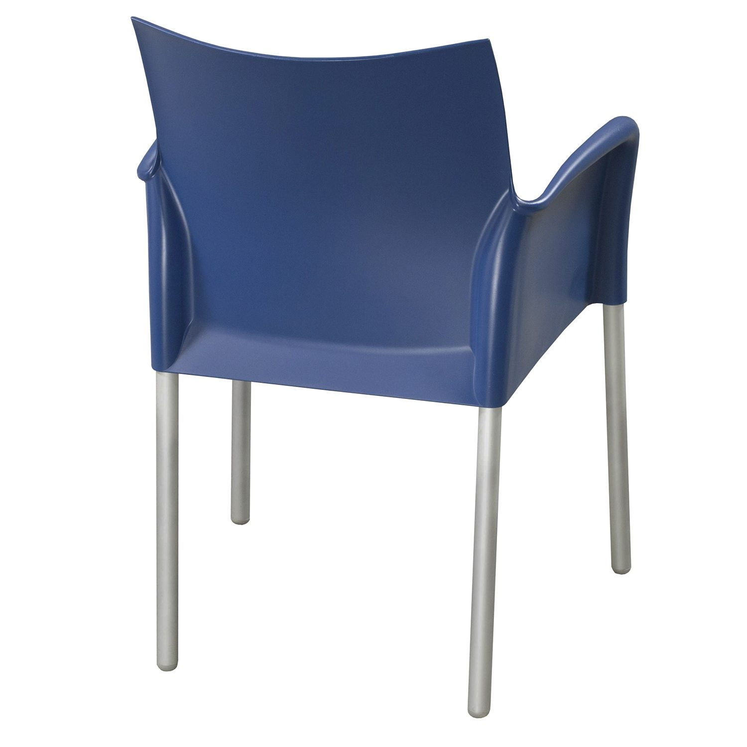 Break Room Chairs Pedarali Ice Used Break Room Chair W Arms Blue