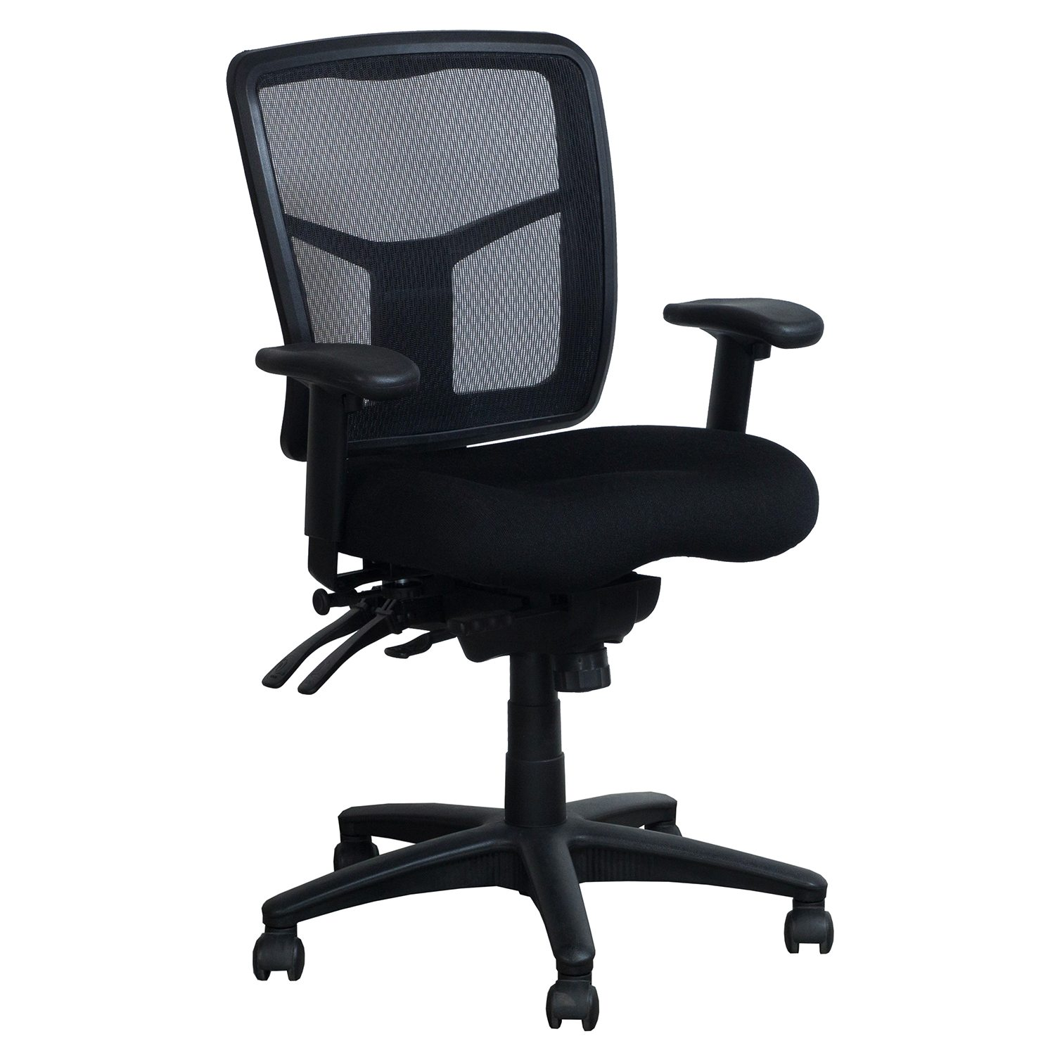 used office chairs comfy chair for bedroom performance furnishings mesh task black