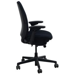 Steelcase Amia Chair Grey Covers For Wedding Used Task Black National Office