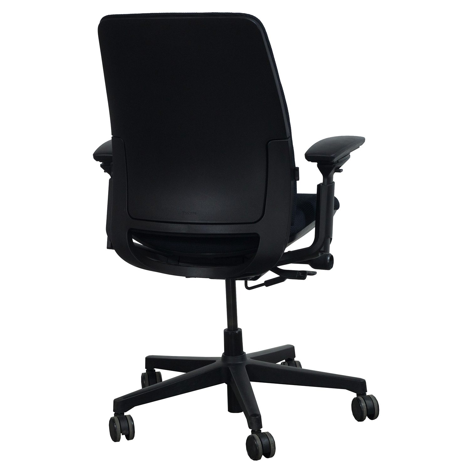 Steelcase Amia Used Task Chair Black  National Office