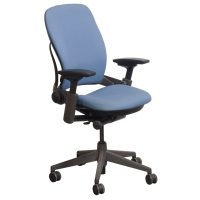 Steelcase Leap V2 Used Task Chair, Sky