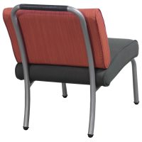 Steelcase Sweeper Used Lounge Chair, Rust/Charcoal ...